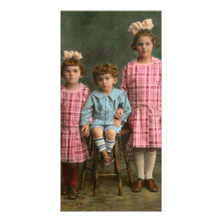 Americana - Molly, Solly and Bertie Photo Greeting Card