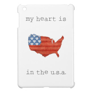 Americana | My Heart Is In The USA Map Case For The iPad Mini