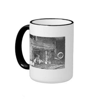 Americana:  New England Kitchen/Town Hall Ringer Mug