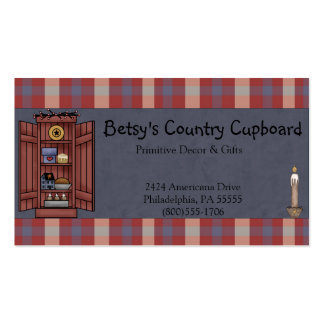 Americana Primitive Country Business Card