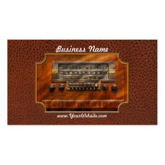 Americana - Radio - Remember what radio was like Pack Of Standard Business Cards