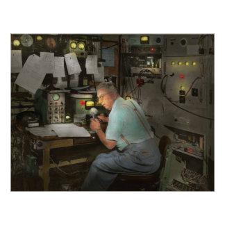 Americana - Radio - The conspiracy expert - 1948 21.5 Cm X 28 Cm Flyer