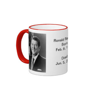 Americana:  Ronald Reagan Ringer Mug
