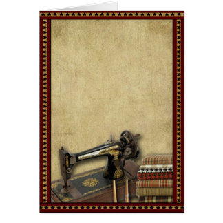 Americana Sewing- Prim Lil Note Cards
