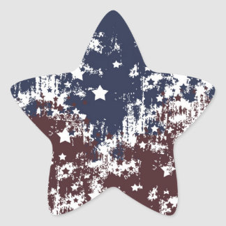 Americana Star Sticker
