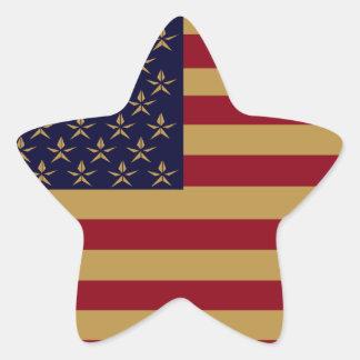 AMERICANA STAR STICKERS