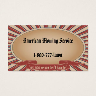 Americana Tan Business Card