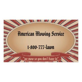 Americana Tan Business Card Templates