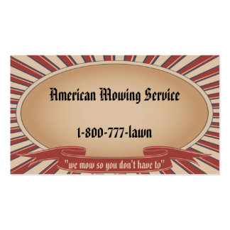 Americana Tan Pack Of Standard Business Cards