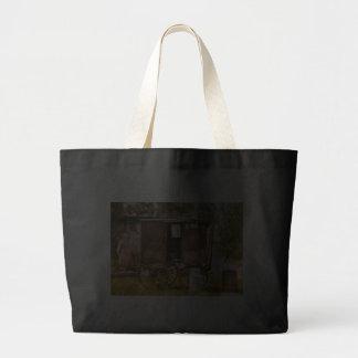 Americana - The Milk and Egg wagon Tote Bags