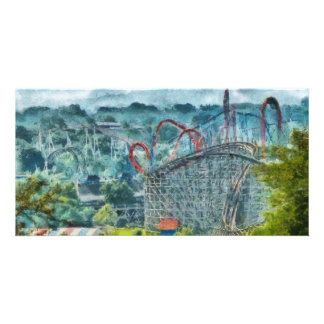 Americana - The thrill ride Photo Card Template
