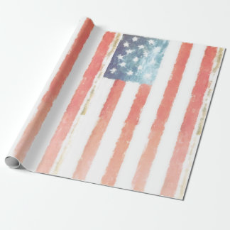 Americana Vintage Wrapping Paper