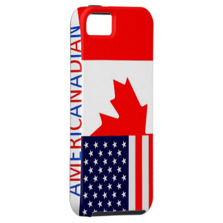AmeriCanadian 2 iPhone 5 tough case