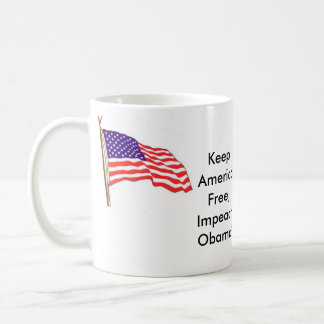 americanflag01, americanflag01, Keep America Fr... Basic White Mug