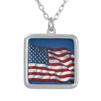 americanflag necklace