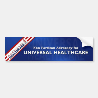 Americans 4 Healthcare Too bumpersticker Bumper Sticker