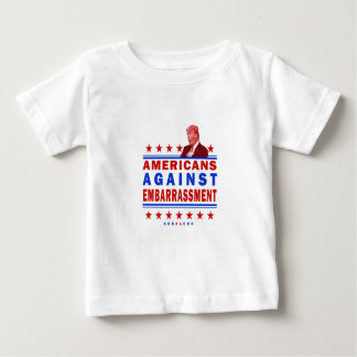 Americans Against Embarrassment Trump Baby T-Shirt