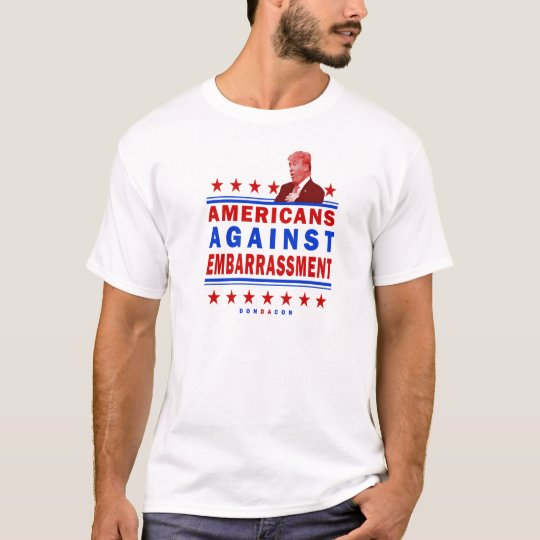 Americans Against Embarrassment Trump T-Shirt