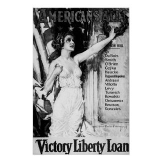 Americans All! Victory Liberty Loan Poster