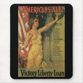Americans All World War II Mouse Pads