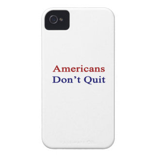 Americans Don t Quit Case-Mate iPhone 4 Cases