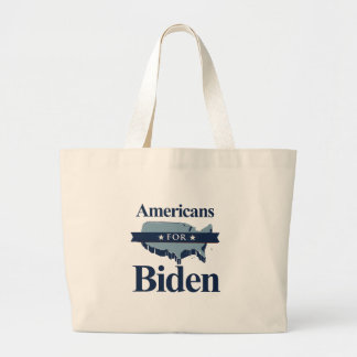 AMERICANS FOR BIDEN -.png Tote Bags