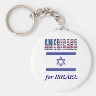 Americans for Israel Keychain