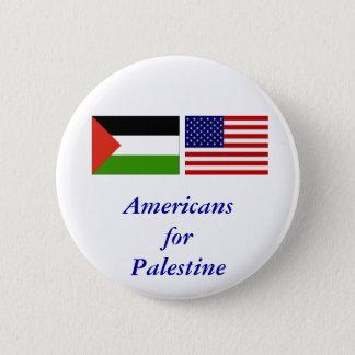 Americans for Palestine 6 Cm Round Badge