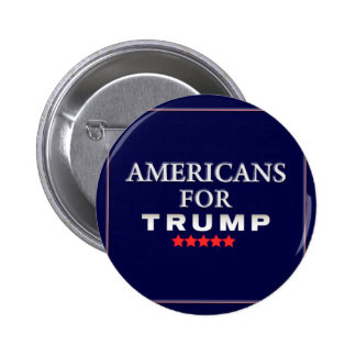 Americans For Trump Button