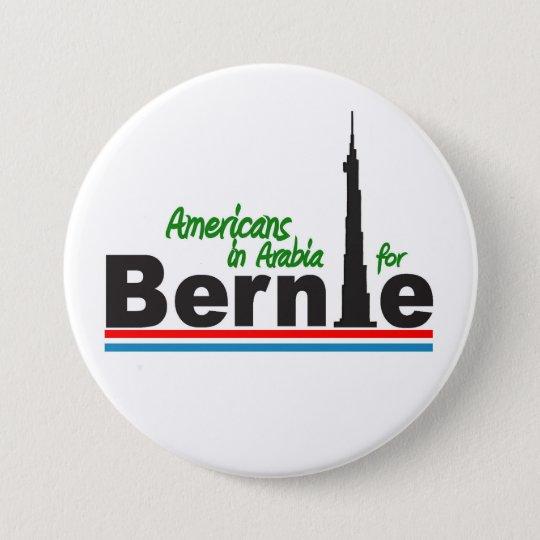 Americans in Arabia for Bernie 7.5 Cm Round Badge