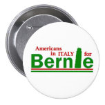 Americans in Italy for Bernie 7.5 Cm Round Badge