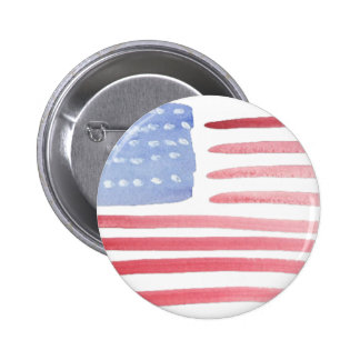 Americans USA Flag 6 Cm Round Badge