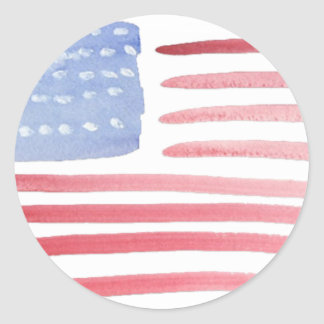 Americans USA Flag Stickers