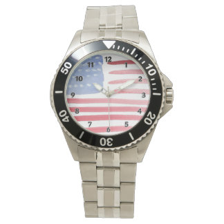 Americans USA Flag Watch