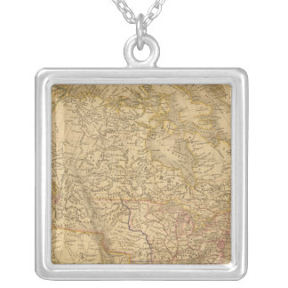 Americas 2 silver plated necklace