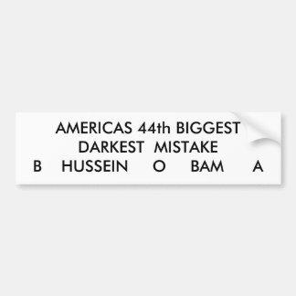 AMERICAS 44th BIGGEST Bumper Stickers