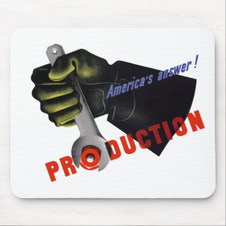 America's Answer! Production Mouse Pad