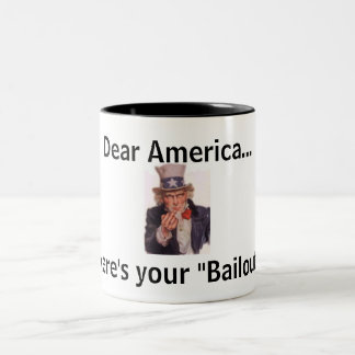 America's Bailout Mug
