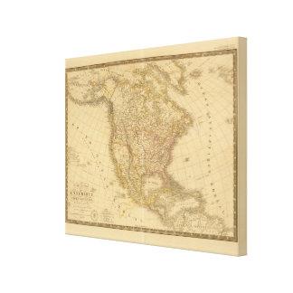 Americas Canvas Print