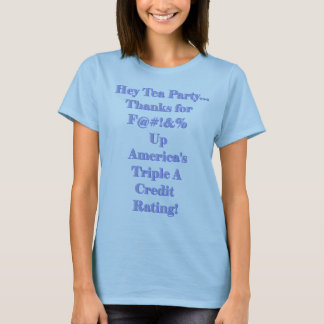 America's Credit Rating T-Shirt