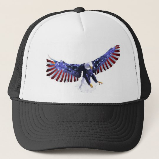 America's eagle trucker hat