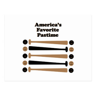 Americas Favorite Pastime Post Cards