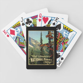 America's National Parks Bicycle Playing Cards