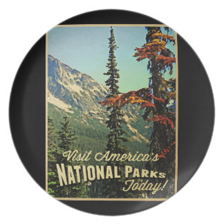 America's National Parks Plate