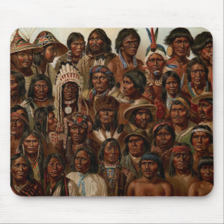 America's Natives Mouse Mat