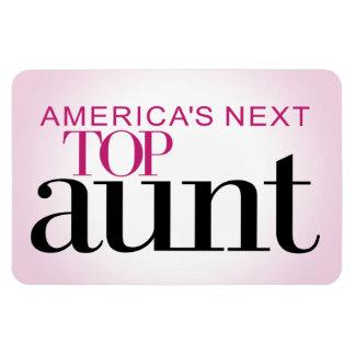 America's Next Top Aunt Rectangular Photo Magnet