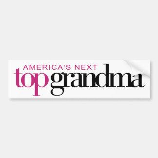 America's Next Top Grandma Bumper Sticker