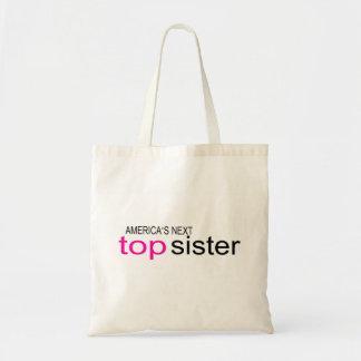 Americas Next Top Sister Canvas Bag