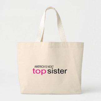 Americas Next Top Sister Jumbo Tote Bag