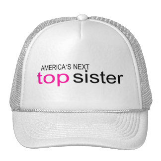 Americas Next Top Sister Mesh Hats